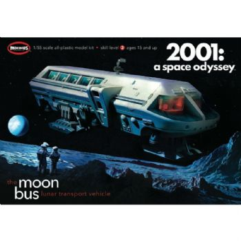 2001 A Space Odyssey Moonbus 1:55 Scale Model Kit